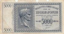 Grèce 5000 Drachmes Caesar - Ile Ionnienne - 1941 - AB