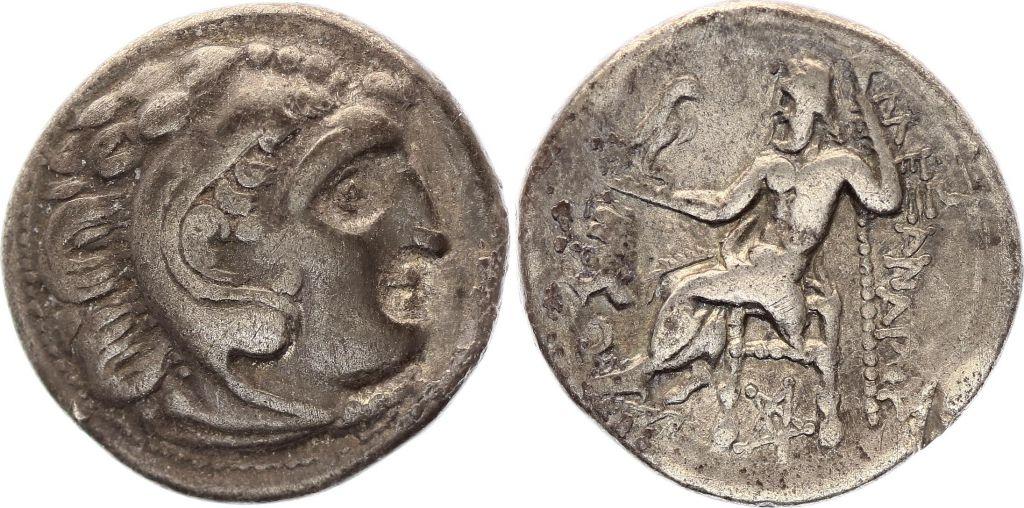 Grèce(Macedoine) Drachme, Lysimaque (305-281)