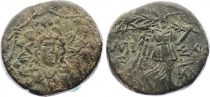 Grèce Tétrachalque, Niké - Gorgone - Amisos (c. -85-63) - 4 ex