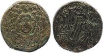 Grèce Tétrachalque, Niké - Gorgone - Amisos (c. -85-63) - 7 ex