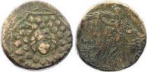 Grèce Tétrachalque, Niké - Gorgone - Amisos (c. -85-63) - 9 ex