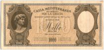 Grecia 1000 Drachm Michaelangelo\'s David