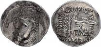 Greece (Parthian Kingdom) 1 Drachme, Mithridates II - King seated holding a bow