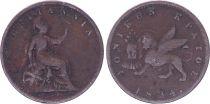 Greece 1 Lepta Britannia - Lion of Venice - 1834 - KM.34