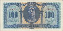 Greece 100 Drachmai Constantin - 1950 - AU