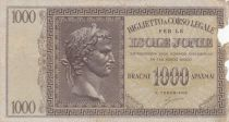 Greece 1000 Drachmai Caesar head - Isole Jonie - Good - P.M.17