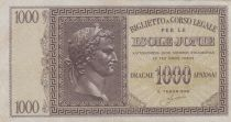 Greece 1000 Drachmai Caesar head - Isole Jonie - VF - P.M.17 - 2nd ex