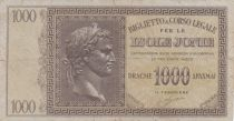 Greece 1000 Drachmes Caesar - Isole Jonie - 1941 - F - P. M.17