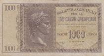 Greece 1000 Drachmes Caesar - Isole Jonie - 1941 - VF - P. M.17
