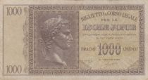 Greece 1000 Drachmes Caesar - Isole Jonie - 1941 - VF - P. M.17
