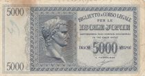 Greece 5000 Drachmai Caesar head - Isole Jonie - VG - P.M.18