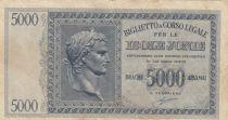 Greece 5000 Drachmes Caesar - Ile Ionnienne - 1941 - aVF - P.M.18