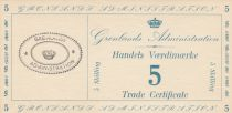 Greenland 5 Skillings - 1942 - M.9 - UNC
