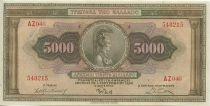 Griechenland 5000 Drachms Athena, griffin - 1932