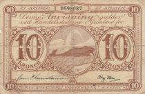 Groenland 10 Kroner Baleine - (1953-1967) - TB - P.19