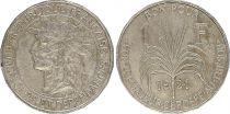 Guadeloupe 1 Franc Tete d\'Indien - 1921 - TB+