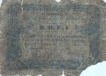 Guadeloupe 100 Francs Charette et Canne à Sucre - Série A.7 - 1942