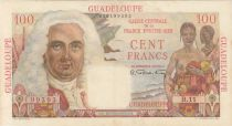 Guadeloupe 100 Francs La Bourdonnais - 1946 Série B.11