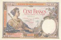 Guadeloupe 100 Francs ND 1944 - Série O.37 - SUP