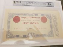 Guadeloupe 1000 Francs Type 1852 - Série O.0 - PCGS 64