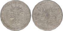 Guadeloupe 50 Centimes Tête d\'indien - 1903 - TTB