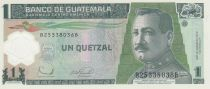 Guatemala 1 Quetzal 2006 Serial B