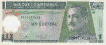 Guatemala 1 Quetzal Gal J.M. Oreliana - Banque Centrale - 2006