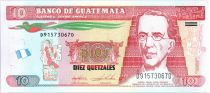 Guatemala 10 Quetzales Gal Granados - Assemblé Nationale 1872 - 2015 (2017)