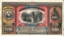 Guatemala 100 Pesos Plantation de café - 1910