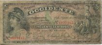 Guatemala 50 Centavos Republic