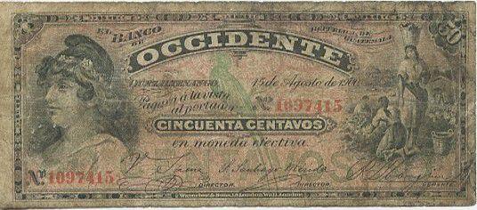 Guatemala 50 Centavos République