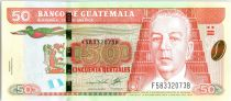 Guatemala 50 Quetzales C. O. Zachrisson - Recolte du café 2013 (2017)