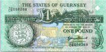 Guernsey 1 Pound, Arms - Thomas de La Rue - 2013