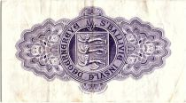 Guernsey 10 Shillings Violet and green - 1966