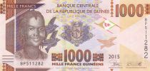 Guinea 1000 Francs, Woman - Mine of Bauxite - 2015 - UNC - P.48