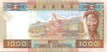 Guinea 1000 Francs Woman - Bauxite