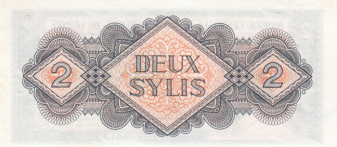 Guinea 2 Sylis 1981  King Mohamed V