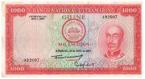 Guinea Portuguesa 1000 Escudos Honorio Barreto