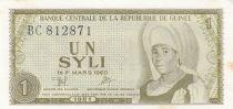 Guinée 1 Syli  1981- H.M. Bangoura