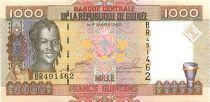 Guinée 1000 Francs Femme - Bauxite