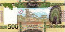 Guinée 500 Francs - Femme africaine - Mine - 2018 - Neuf