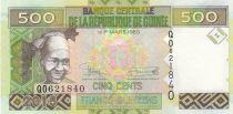 Guinée 500 Francs, Femme - Exploitation minière - 2015 - Neuf