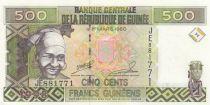 Guinée 500 Francs Femme - Exploitation minière - Série JE - 1998