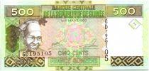 Guinée 500 Francs Femme - Exploitation minière 2006