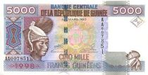 Guinée 5000 Francs Femme - Barrage