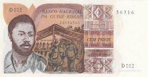 Guinée Bissau 100 Pesos D. Ramos - 1975 - Neuf - P.2 Série D.002