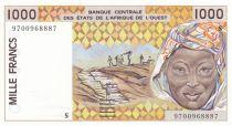 Guinée Bissau 1000 Francs femme 1997 - Guinée Bissau