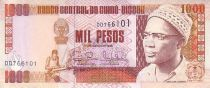 Guinée Bissau 1000 Pesos Amilcar Cabral - Tableau Apothéose du Triumph