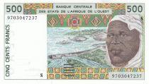 Guinée Bissau 500 Francs homme 1997- Guinée Bissau