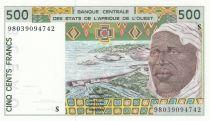 Guinée Bissau 500 Francs homme 1998- Guinée Bissau